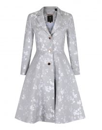 Fraully Oriental Jacquard Coat by Ted Baker at Ted Baker