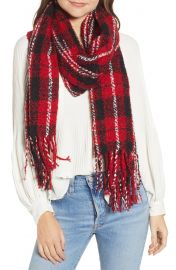 Free People Emerson Plaid Scarf at Nordstrom