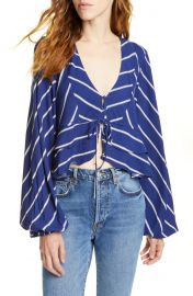 Free People Samifran Ruffle Top   Nordstrom at Nordstrom