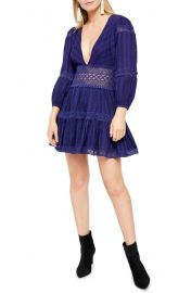 Free People The Delightful Long Sleeve Minidress   Nordstrom at Nordstrom