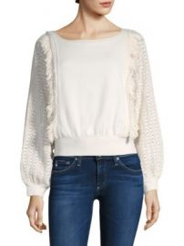 Free People - Faff   Fringe Pullover at Saks Fifth Avenue