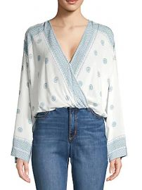 Free People - On Board Printed Bodysuit at Saks Off 5th