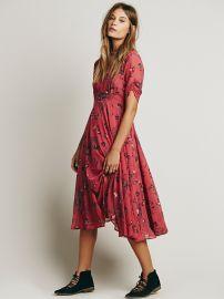 Free People  Bonnie Dress in Vintage Rose at Free People