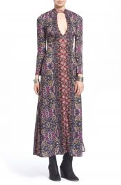 Free People  Cabaret  Long Sleeve Maxi Dress at Nordstrom