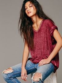 Free People  Keep Me Tee at Free People