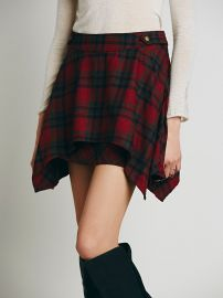 Free People  Too Cool for School Mini Skirt at Free People