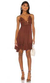 Free People Adella Slip Dress in Cocoa from Revolve com at Revolve