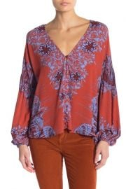 Free People Birds of a Feather Top at Nordstrom Rack