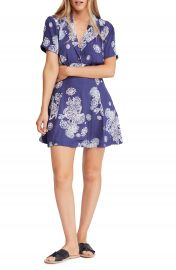 Free People Blue Hawaii Minidress   Nordstrom at Nordstrom