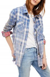 Free People Deconstructed Shirt Jacket at Nordstrom