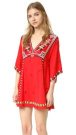 Free People Embroidered Tulum Mini Dress at Shopbop