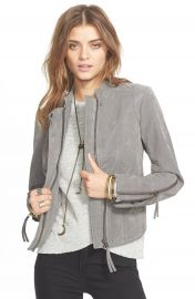 Free People Faux Leather Jacket at Nordstrom