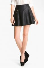 Free People Faux Leather Skirt at Nordstrom