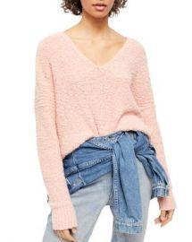 Free People Finders Keepers Textured Sweater Women - Bloomingdale s at Bloomingdales