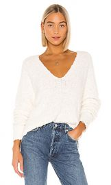 Free People Finders Keepers V Neck in White from Revolve com at Revolve
