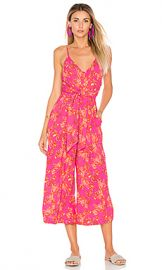Free People Hot Tropics Jumpsuit in Pink Combo from Revolve com at Revolve