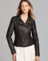 Free People Jacket - Distressed Faux Leather Peplum at Bloomingdales