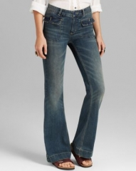Free People Jeans - Tailored Flare in Estrella Wash at Bloomingdales