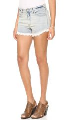 Free People Lacy Cutoff Shorts at Shopbop
