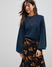 Free People Let It Shine Oversized Knit Sweater at Asos