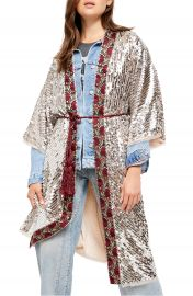 Free People Light is Coming Sequin Duster   Nordstrom at Nordstrom