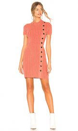 Free People Lottie Rib Dress in Coral from Revolve com at Revolve