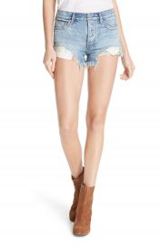 Free People Loving Good Vibrations Shorts   Nordstrom at Nordstrom