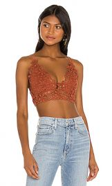 Free People Miss Dazie Bralette in Terracotta from Revolve com at Revolve