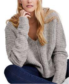 Free People Moonbeam V-Neck Sweater   Reviews - Sweaters - Women - Macy s at Macys