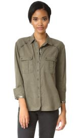 Free People Off Campus Button Down Blouse at Shopbop