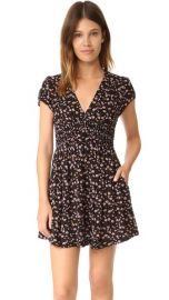 Free People Pretty Baby Printed Mini Dress at Shopbop
