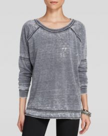 Free People Pullover - Never Can Tell Burnout at Bloomingdales