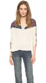 Free People Rio Henley Top at Shopbop