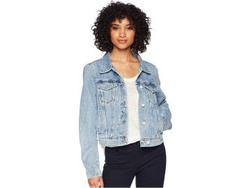 Free People Rumors Denim Jacket at Zappos
