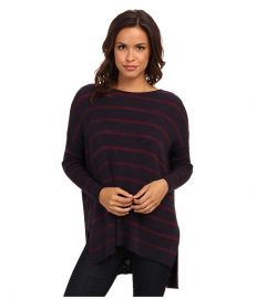 Free People Shipping News Sweater Navy Combo at 6pm