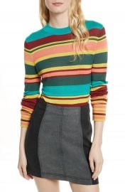 Free People Show Off Your Stripes Sweater at Nordstrom