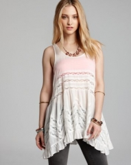 Free People Slip - Voile Trapeze at Bloomingdales