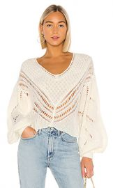 Free People Snowball Sweater in Ivory from Revolve com at Revolve