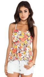 Free People Some Like it Hot Top in Swan Combo  REVOLVE at Revolve