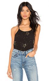 Free People Star Embellished Tank Top in Black from Revolve com at Revolve