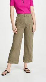 Free People Sunday Skies Straight Leg Trousers at Shopbop