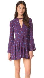 Free People Tegan Printed Mini Dress at Shopbop