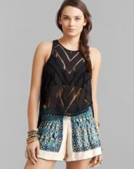 Free People Top - Ethereal Daze Ginger at Bloomingdales
