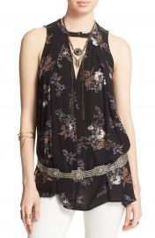 Free People Tree Swing Sleeveless Top at Nordstrom