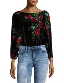 Free People Velvet Bodysuit at Lord & Taylor