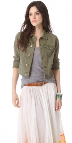 Free People Washed Out Denim jacket at Shopbop