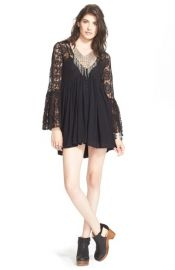 Free People With Love BabydollDress in Black at Nordstrom
