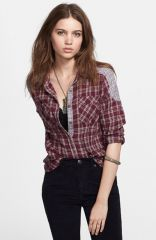 Free People and39Catch Up with Meand39 Cotton Shirt at Nordstrom