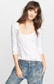 Free People and39Keepsakeand39 Slub Henley at Nordstrom