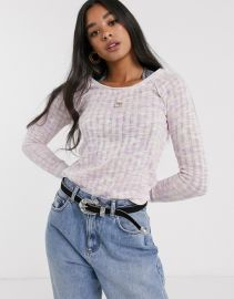 Free People spaced out long sleeve at Asos